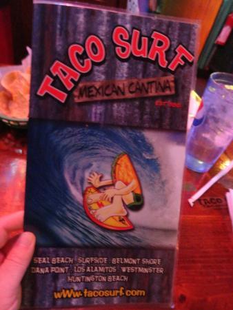 Taco Surf : Menu