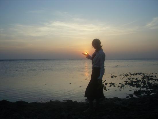Guraidhoo Vacation Inn : sunset