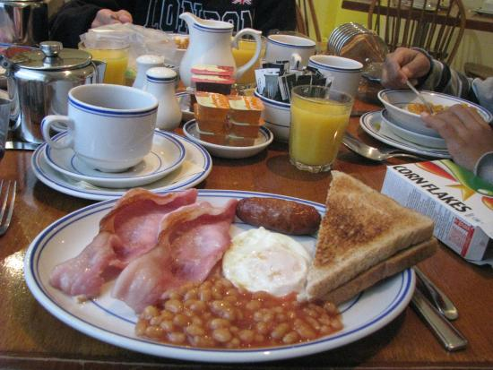 Jesmond Dene Hotel: Full English breakfast