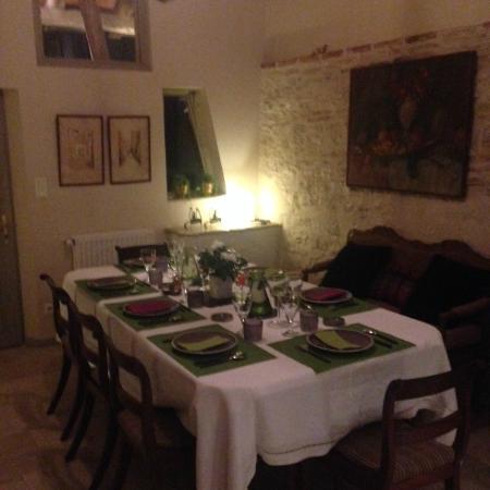 La Ferme de Marie-Eugenie : dining room