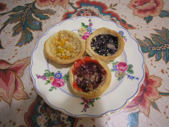 Lovely tarts from Holtom's Bakery!