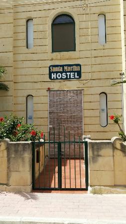 Santa Martha Hostel : Entrata