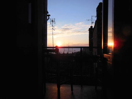 San Ercolano Hotel: Our Balcony at sunrise