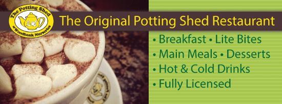 Bingley, UK: The Potting Shed Restaurant