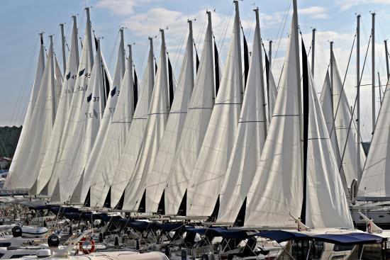 Sukosan, Croacia: sails
