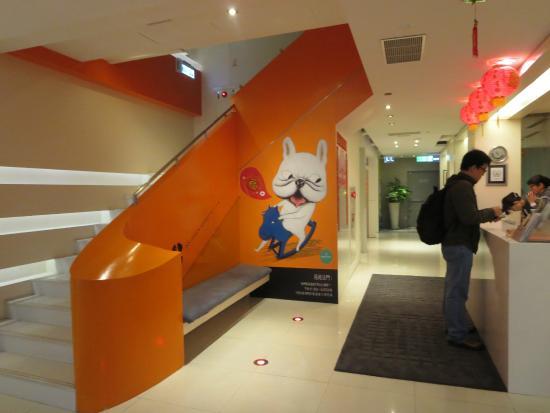 CityInn Hotel - Taipei Station Branch II : Hotel lobby