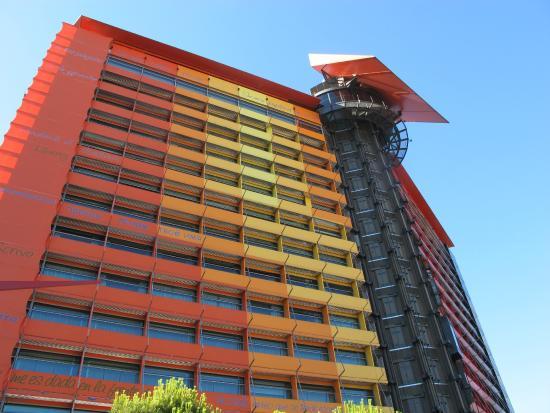 Habitaci n junior suite planta 8 picture of silken for Hotel silken puerta america plantas