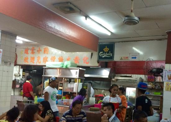 Kedai Kopi Fatt Kee: It's a popular and, therefore a busy, place.