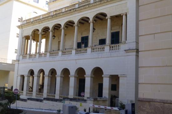 Palazzo Capua : outside view