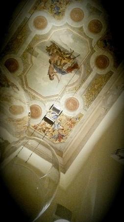 Ristorante Da Vinci: soffitto