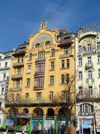 Grand hotel europa picture of wenceslas square prague for Europe hotel prague