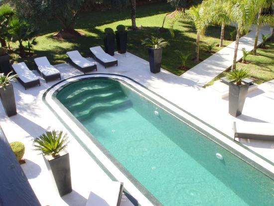 Villa mano b b marrakech maroc voir les tarifs 62 for Hotel marrakech pas cher avec piscine