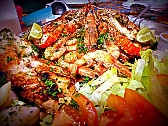 Tucano: grigliata mista di mare