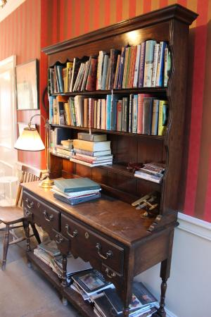 Cavendish Hotel Bookshelf In The Hallway