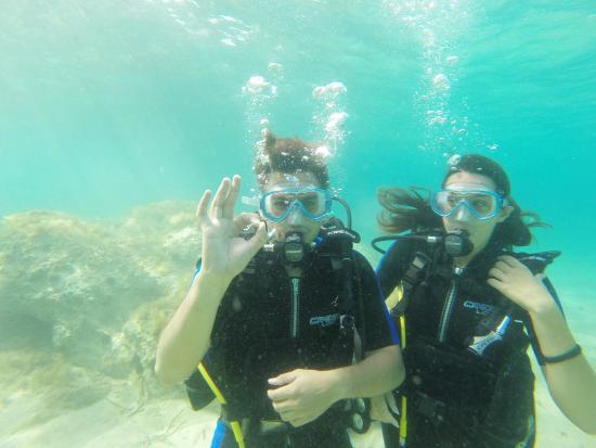 Afitos, اليونان: scuba diving
