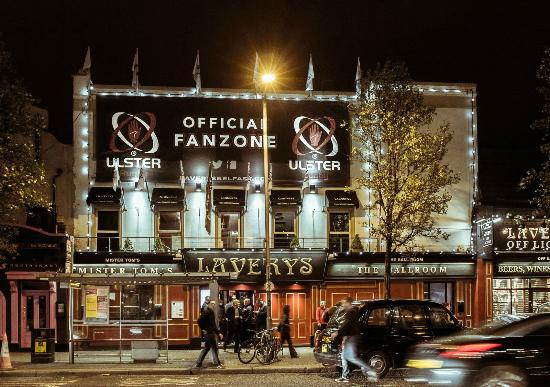 Laverys Frontage Ulster Rugby Picture Of Lavery S Bar