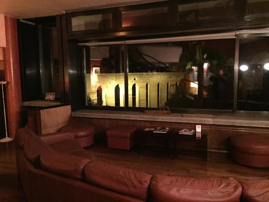 Hotel Gattapone: Sala con vista. Mozzafiato