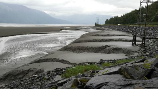 Bore Tide in Turnagain Arm: Last stop