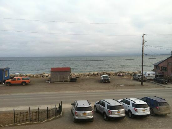 Aurora Inn and Executive Suites: View to the Bering Sea from room