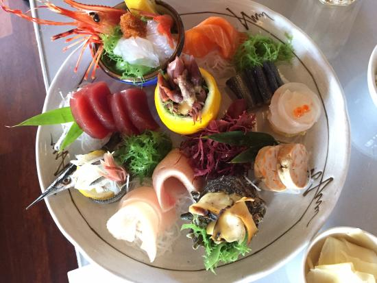 A-RU: Sashimi heaven