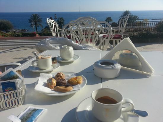 Un caffè in terrazza - Picture of Royal Hotel Sanremo, Sanremo ...