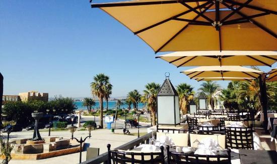 Le Berbere : La terrasse du Restaurant