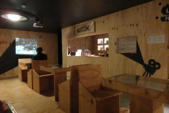 Maarjamae Palace Estonian History Museum (Maarjamae Loss): Cafe in the Estonian Cinema 100 years exhibition area