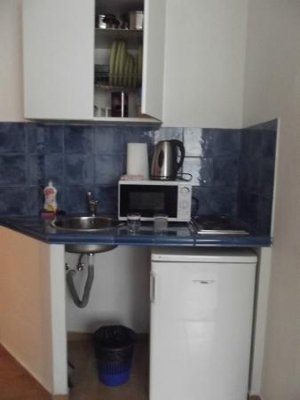 Apartment Konvikt: кухонный уголок