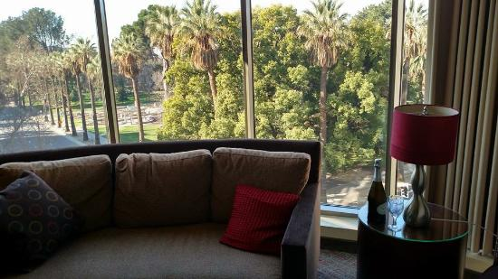 Residence Inn Sacramento Downtown at Capitol Park: Love the view