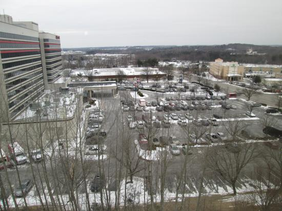 Country Inn & Suites By Carlson, BWI Airport (Baltimore): View from fifth floor hallway window