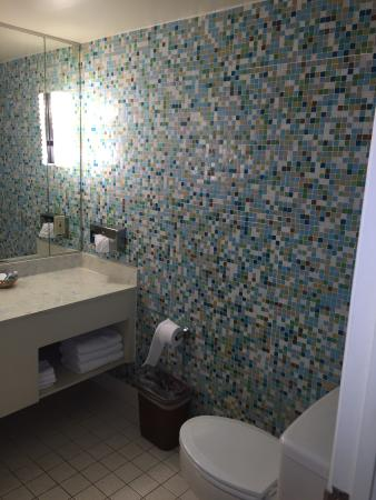 Stagecoach Inn Motel & Conference Center: retro bathroom