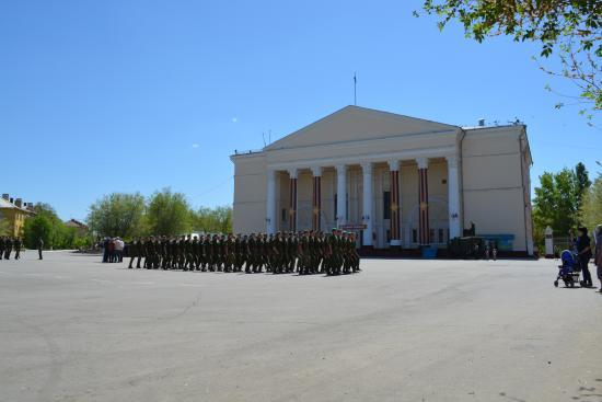 Akhtubinsk, Russia: Дом офицеров