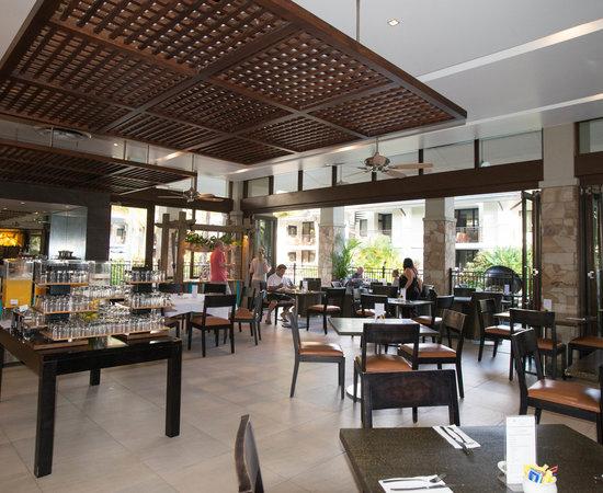 Breakfest Restaurant at the Pullman Port Douglas Sea Temple Resort & Spa