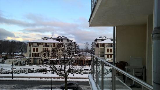 Aparthotel Park Avangard: Blick vom Balkon