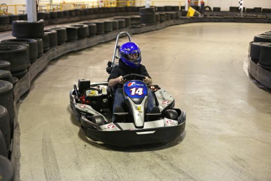 Go Karts Columbus >> Hands On The Wheel Eyes On The Competition Picture Of Grand Prix