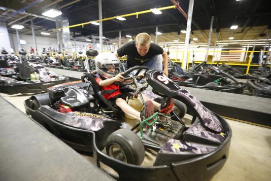 Go Karts Columbus >> Future Nascar Driver In The Making Junior Karts Ages 8 13