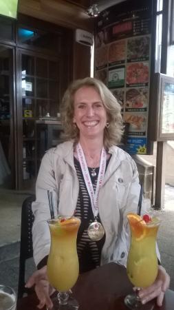 Black Gold Saloon: celebrating with cocktails after the marathon