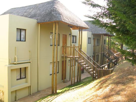 Underberg, Zuid-Afrika: 2 & 1 bedroom apartments all with stairs