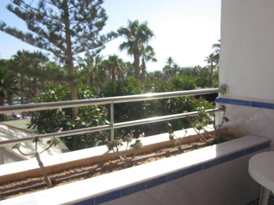 Playasol Spa Hotel: Vista dede la habitacion