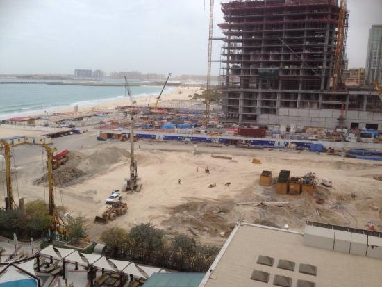 Hilton Dubai Jumeirah Beach: The current view and noise for the next two years