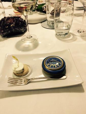 Auberge du Cheval Blanc: Mise en bouche