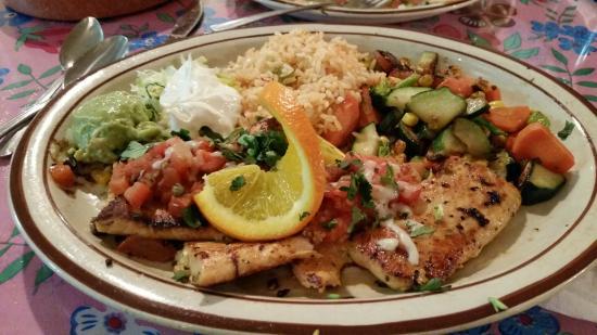 Guadalajara Grill : Grilled Salmon Platter