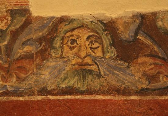 Basilica di Aquileia: Одна из стенных росписей