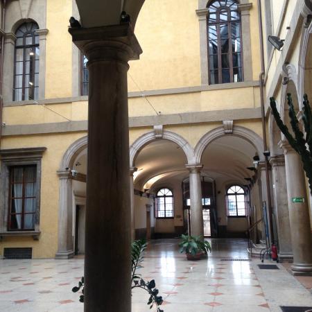 Museo Civico di Storia Naturale: Внутренний двор
