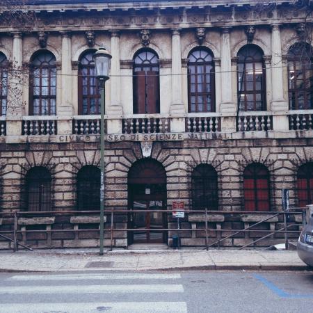 Museo Civico di Storia Naturale: Фасад