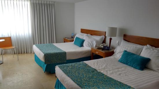 Hotel Estelar Oceania : Camas súper cómodas