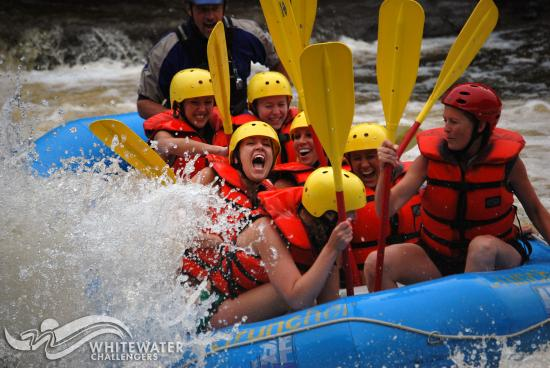 Dexter, นิวยอร์ก: Black River Rafting with Whitewater Challengers