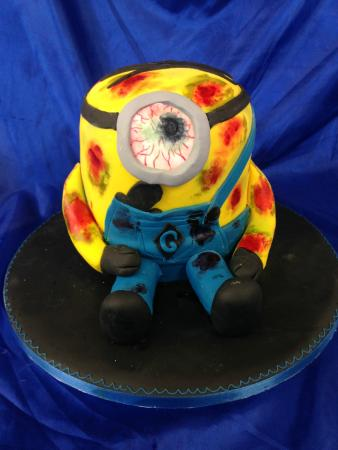 Halloween Minion Cake Picture of The Bakery Bexleyheath TripAdvisor