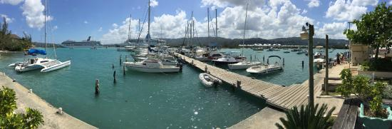 Montego Bay Yacht Club: Your view from the club