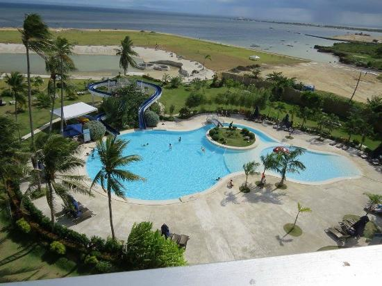 BEST WESTERN Sand Bar Resort : View from room on 5th floor of pool area
